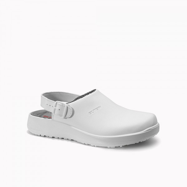 ELTEN clog LEVY white ESD OB